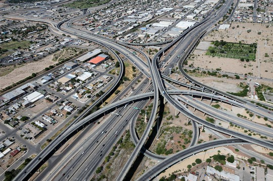 The ramp to Juárez from Interstate 10 West will close for nine months as crews work to tie in ramps in the I-10 Connect project. The construction will begin at 9 p.m. Sept. 8 on Ramp F.