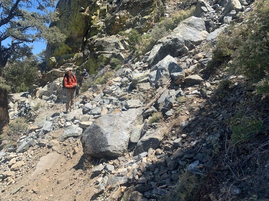 Rockslides triggered by the Ridgecrest quakes and recent seismic activity has closed portions of Pacific Ridge Trail near Lake Isabella, according to the Bureau of Land Management.