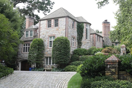 The Bronxville home of Roger Goodell, pictured here, will be the epicenter of the 2020 NFL Draft. Due to the COVID-19 pandemic, the NFL commissioner will announce draft picks from a virtual setup in his basement. A limited team of technicians will aid the broadcast from Goodell's garage.