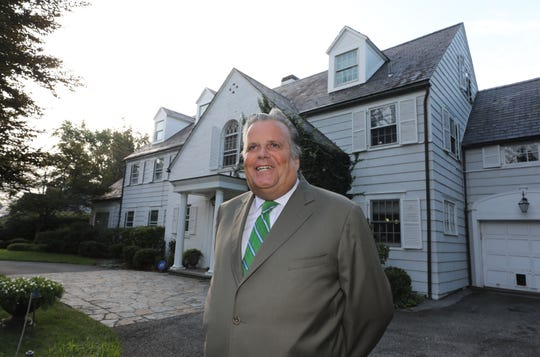 Glenn Bellitto, a town councilman with the Town of Eastchester, is pictured in front of his home in Bronxville, Aug. 28, 2019.