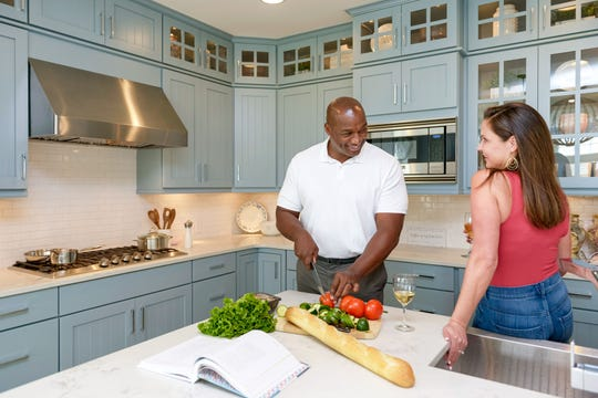A personalized gourmet kitchen offers families all the amenities they need to whip up a satisfying meal and enjoy an intimate setting with each other.