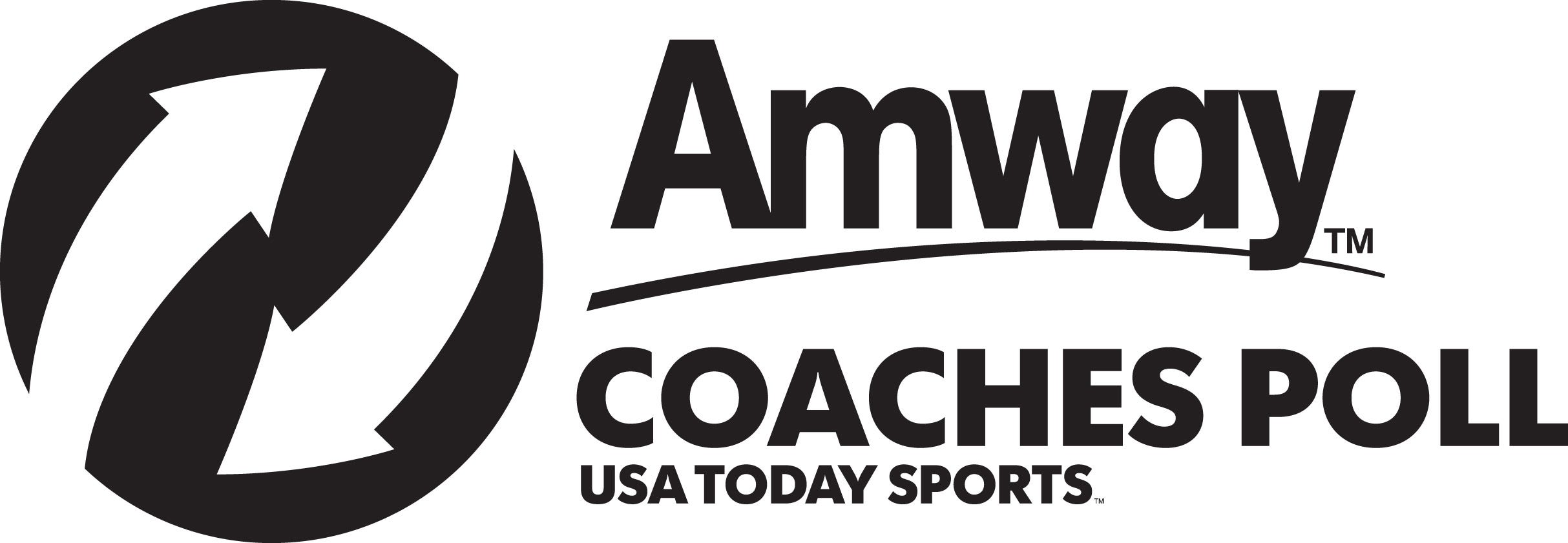 Amway Coaches Poll Logo
