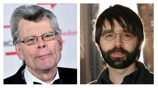 "Netflix's new horror film ""In the Tall Grass"" is based on a novella by Stephen King (left) and his son Joe Hill."