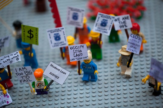 Version of the Occupy Wall Street protests in 2011.