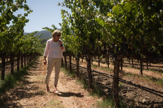 "Beth Novak Milliken, Spottswoode Estate Vineyard president and CEO, says she has ""to plan ahead in a way I never thought I'd have to."""