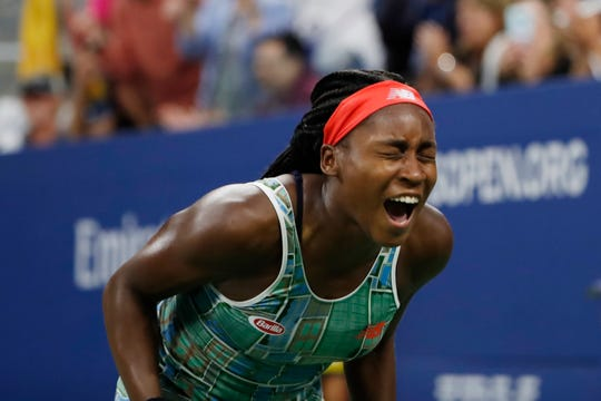 2019 US Open: Coco Gauff needs three sets, wins debut in ...