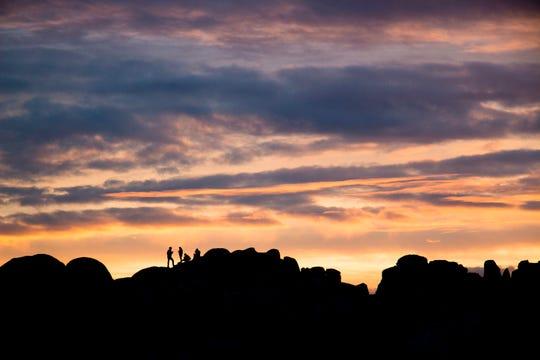 Jumbo Rocks Campground , in California's Joshua Tree National Park, offers inspiring night skies.