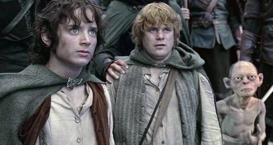 Frodo and Sam continue on their quest to destroy the One Ring on the second movie of the trilogy.