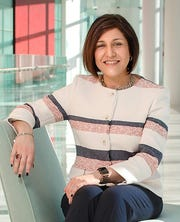 Maribel Perez Wadsworth is president of Gannett's news division.