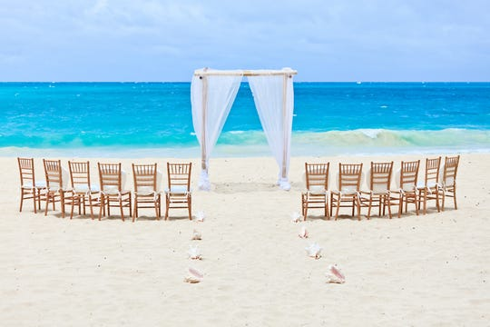 Do not plan a Caribbean beach wedding during hurricane season.