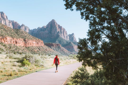 Zion National Park's South Campground gets you close to Watchman and good restaurants.