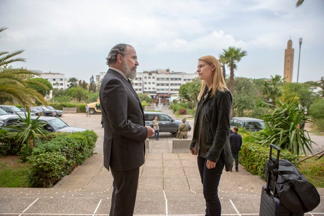 "Mandy Patinkin and Claire Danes in ""Homeland"" (Showtime, eight seasons)"