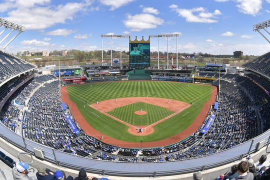 Kauffman Stadium has been the Royals' home since 1973.