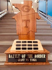 Tioga and Grant will compete in the inaugural Battle of the Border Friday at The Reservation.
