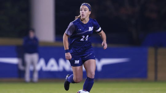 Monmouth midfielder Jess Johnson is the reigning MAAC Defensive Player of the Year.