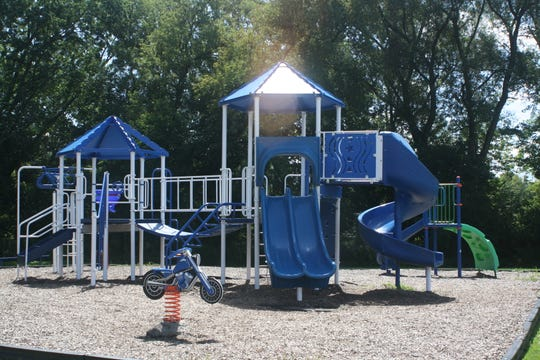 A playground is located behind the Boys & Girls Club of Western Broome Family Center in Endicott.