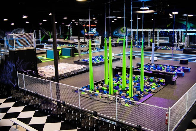 """Defy, an """"extreme air sports"""" park, will open in Silverdale this fall. Pictured are some of the features at Defy's park in Seattle."""