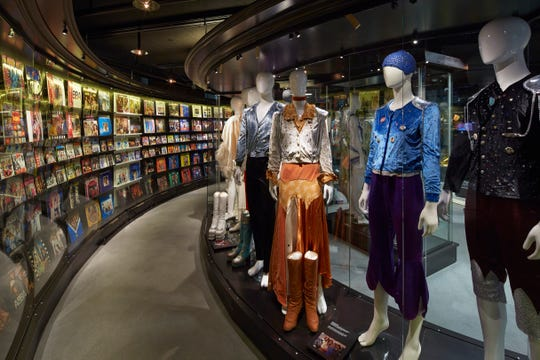 The museum also has ABBA costumes on display.