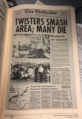 The Vindicator. Historic tornado page.