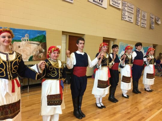 Greek dancing takes center stage at the Flemington Opa! Greek Festival.