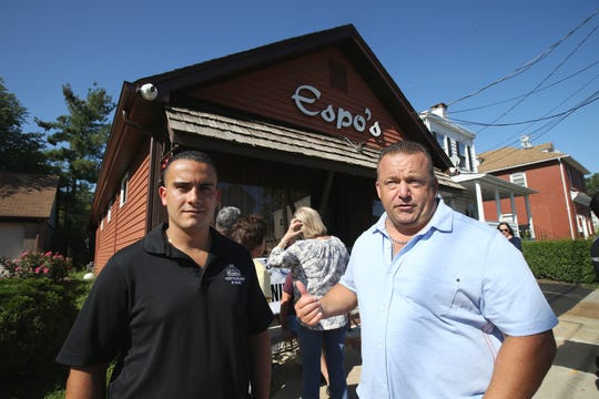 Nick Zamora and Kevin Sempervive, owners of Espo's, an iconic restaurant that closed recently, talk about the reopening in Raritan, NJ Thursday, August 29, 2019.