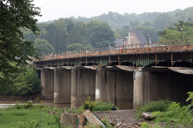 The Three Rivers Veterans Memorial Bridge should be fully functional by the end of this construction season, according to the Ohio Department of Transportation, although some finishing work is still on tap for next summer.