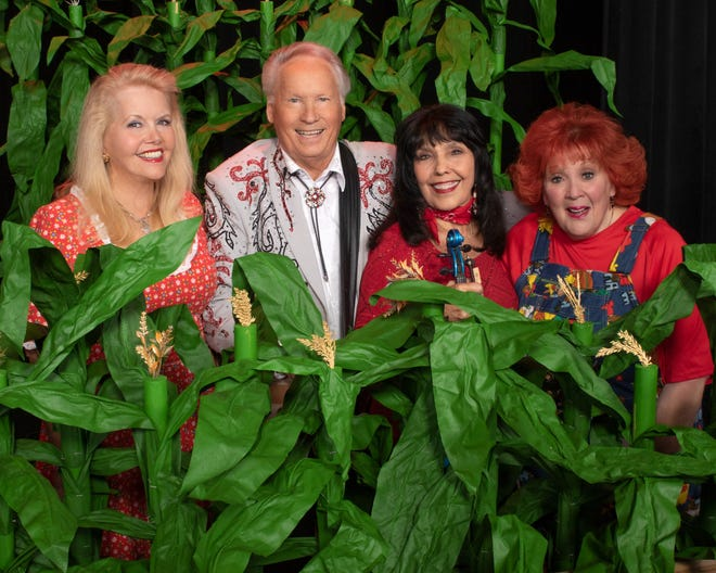 "Misty Rowe, Buck Trent, Jana Jae and Lulu Roman of ""Remembering Hee Haw"" coming to the Performing Arts Center at Kent State University Tuscarawas."