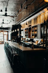 Traverse City Whiskey Co. opened its first tasting room outside of its hometown at 22812 Woodward Ave., in the renovated space that formerly was Como's long bar.