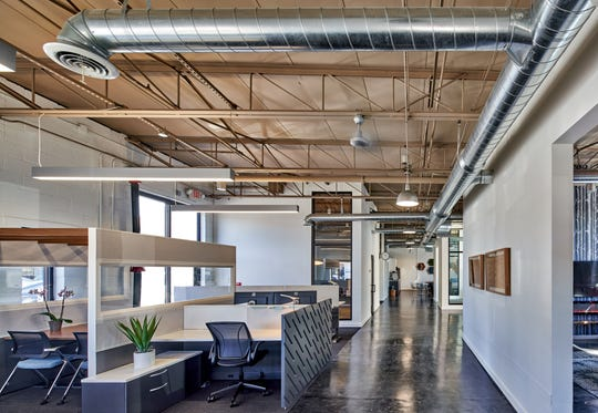 Shared coworking space,The Den, is open inside Partnr Haus at 2139 Cole Street.