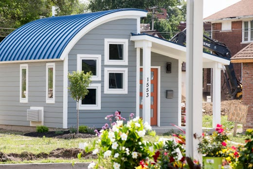 Tour tiny homes in Detroit that give residents chance to own