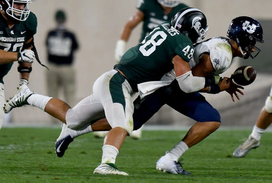 Kenny Willekes is back to anchor a Michigan State defense that ranked in the top 10 in total defense and scoring defense last season.