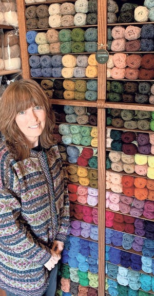 Charlene Hatfield, who owns Stitch in Time in Howell.