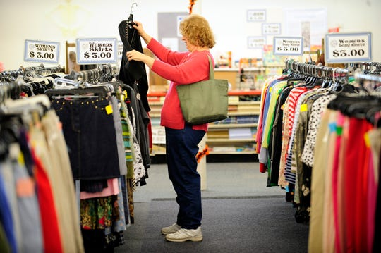 Thrift-store shopping is trendy again, as people look to score one-of-a-kind clothes and home goods at a discount.