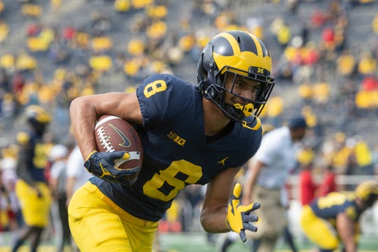 Michigan wide receiver Ronnie Bell