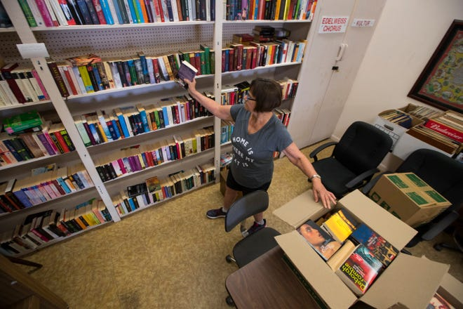 Hannelore Eichner is the librarian of a small library located in a room at the German American Social Club. She's doing her part to connect club members to their native land by operating the library for more than a decade.