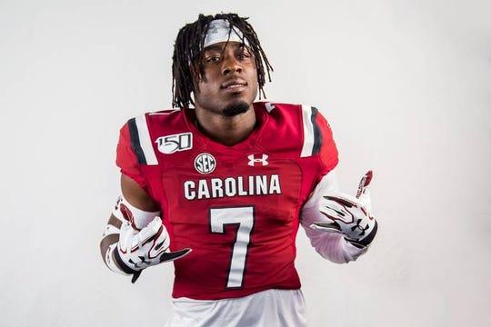 South Carolina DB Jammie Robinson prepares for the 2019 season.