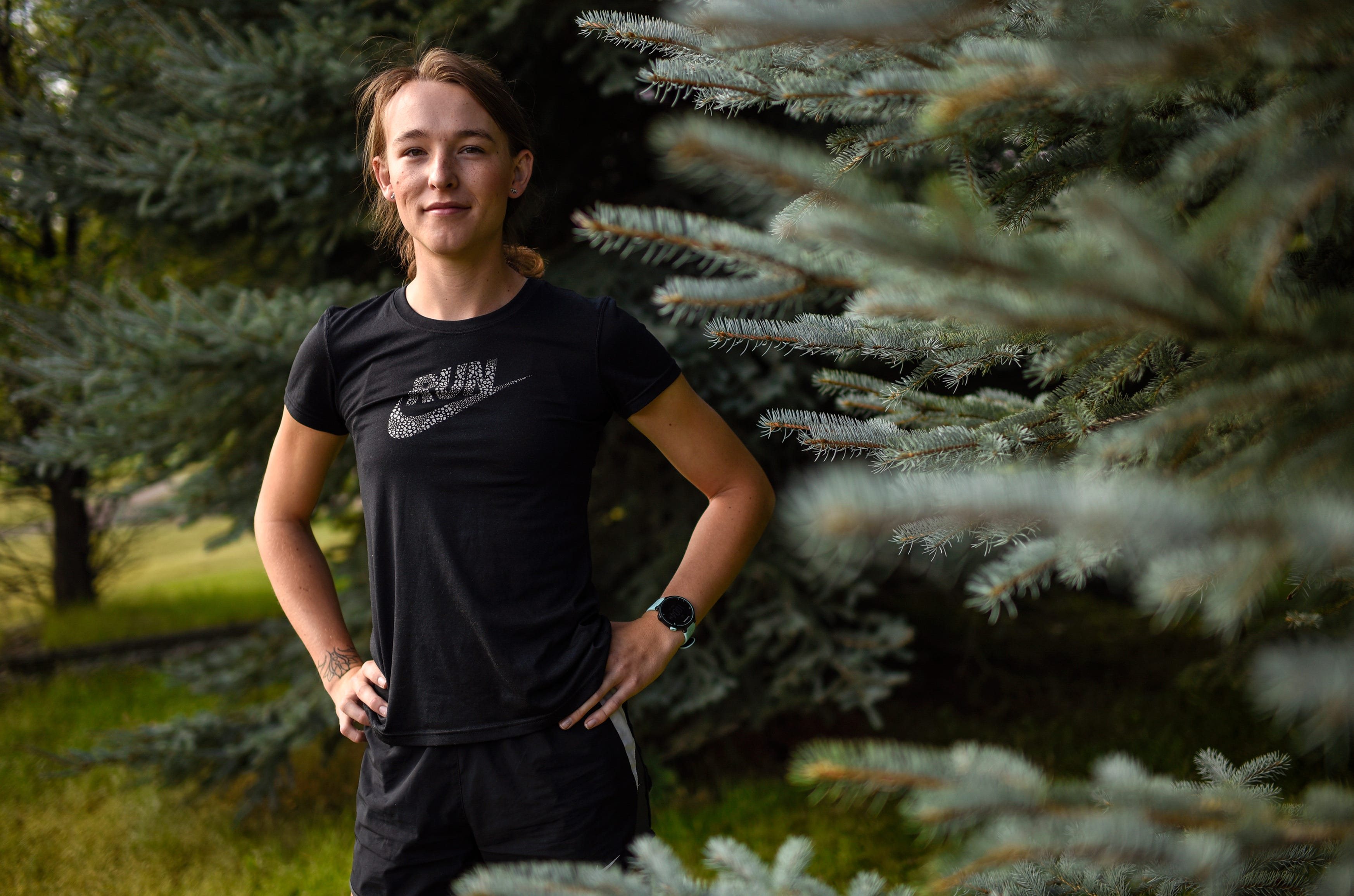 University of Montana runner June Eastwood was the first transgender athlete to compete in NCAA Division I cross country.