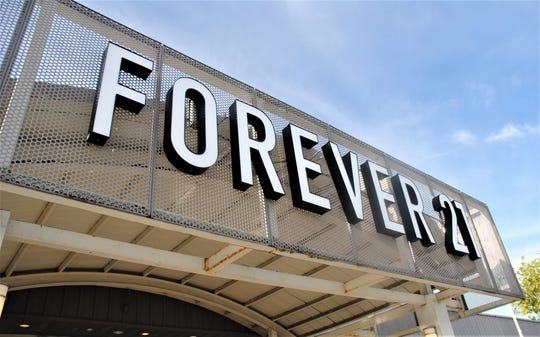 The Forever 21 store at Guam Premier Outlets in Tamuning Aug. 30.