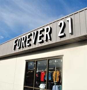 The Forever 21 store at Guam Premier Outlets is shown in this Aug. 30 file photo.