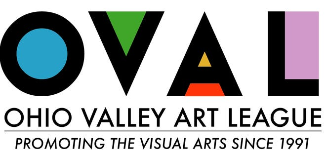 New Ohio Valley Art League logo (2019)
