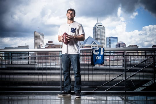 """Andrew Luck thanks Indianapolis for """"an incredible eight years."""""""