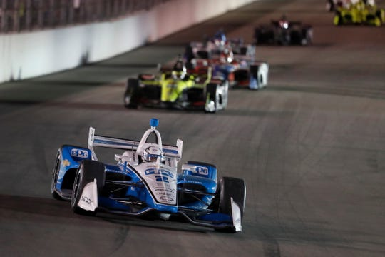 Josef Newgarden maintains a 38-point championship lead over teammate Simon Pagenaud with two races remaining.