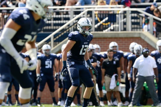Butler safety Luke Sennett was a preseason first-team All-Pioneer League selection.