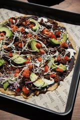 Tlayuda Oaxaca, a type of traditional Mexican pizza, will be served at Single Barrel Social in Brighton once it opens.