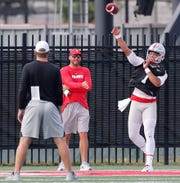 Quarterback Justin Fields is set to making his starting debut for Ohio State on Saturday.