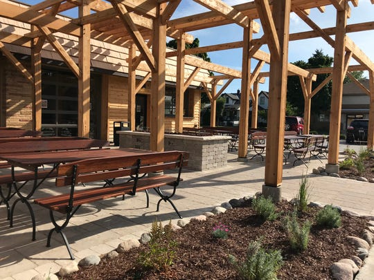 Station No. 6 combines a three-season beer garden with a year-round bar and cafe at 6800 W. Becher St. in West Allis.