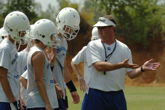 Chip Lindsey was first a head coach in 2005 at Colbert Heights High near Florence.