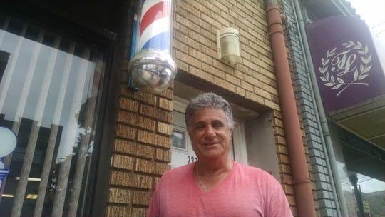 John Graziano, co-owner, Shear Creations, Lyndhurst