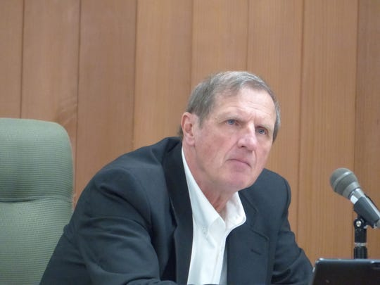 Commissioner Tom Stewart said detention center and personnel costs more than consume all the county's collected property taxes.