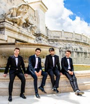 The Four Italian Tenors will perform at the Spencer Theater for the Performing Arts in Nov. 9.